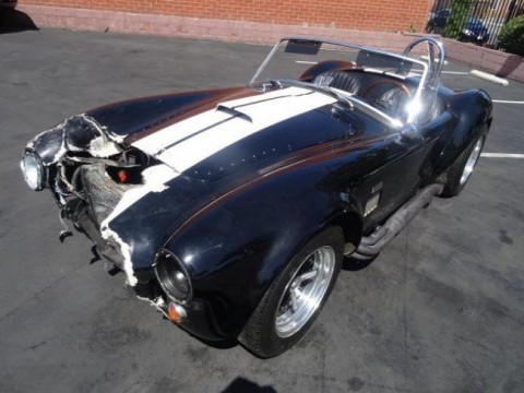 1967 Spcns Cobra Replica 427 Project Fixable Damaged for sale