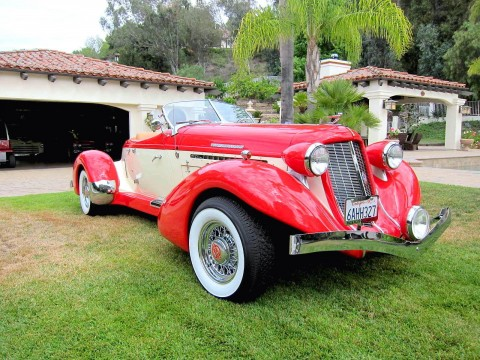 1935 Auburn 851 Boattail Speedster by Auburn Manufacturing Inc for sale