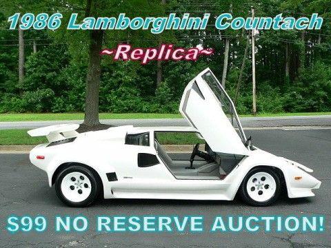 1986 Lamborghini COUNTACH Replica for sale