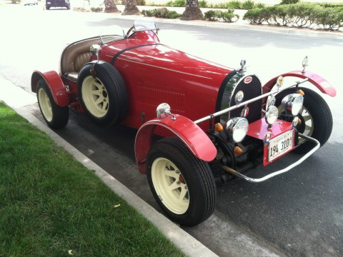1927 Bugatti Replica Type 35B By Jerred Auto Manufacturing Co. for sale