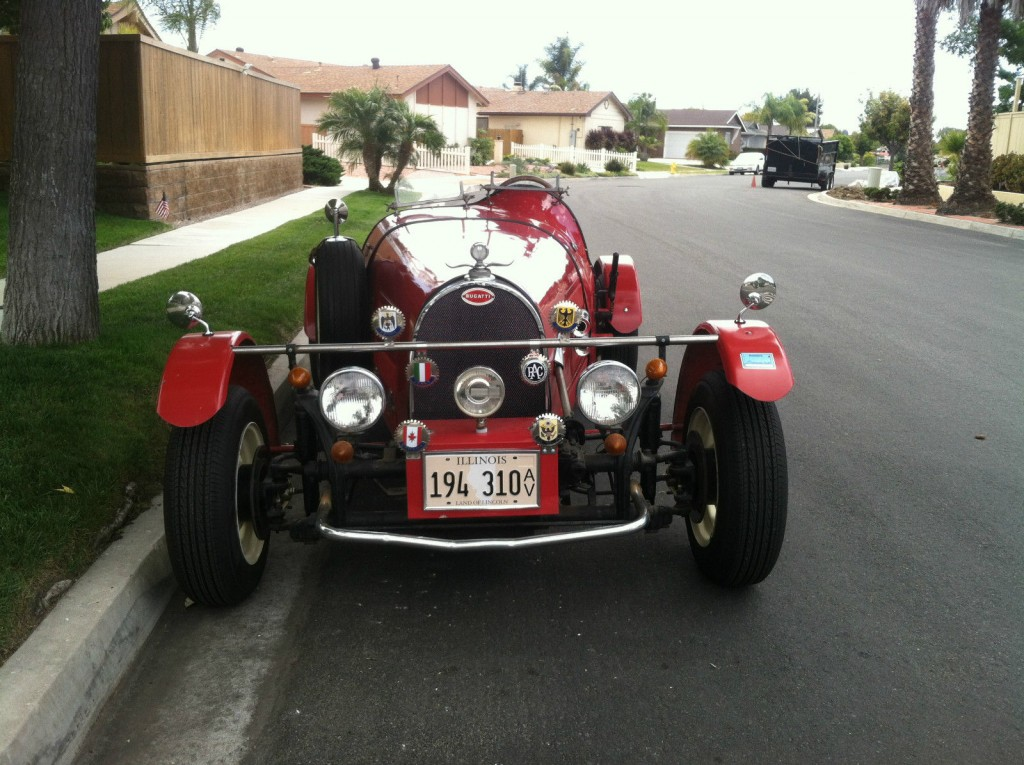 Type 35b by jerred auto manufacturing co replica cars for sale
