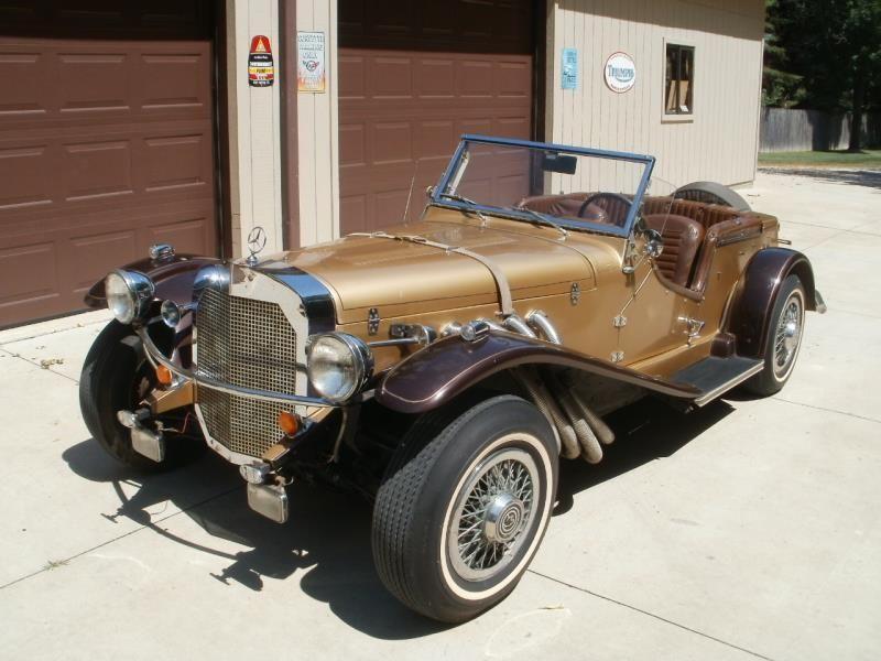 1929 mercedes ssk replicar gazelle model for sale for Mercedes benz 1929 ssk