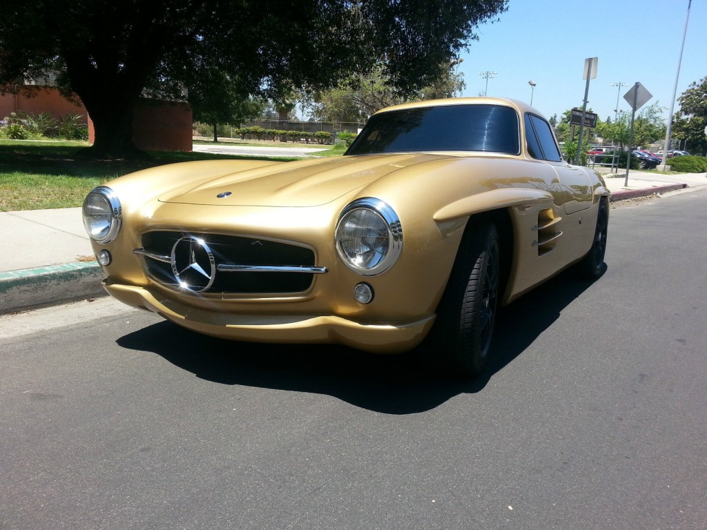 1955 mercedes 300sl gullwing replica for sale. Black Bedroom Furniture Sets. Home Design Ideas