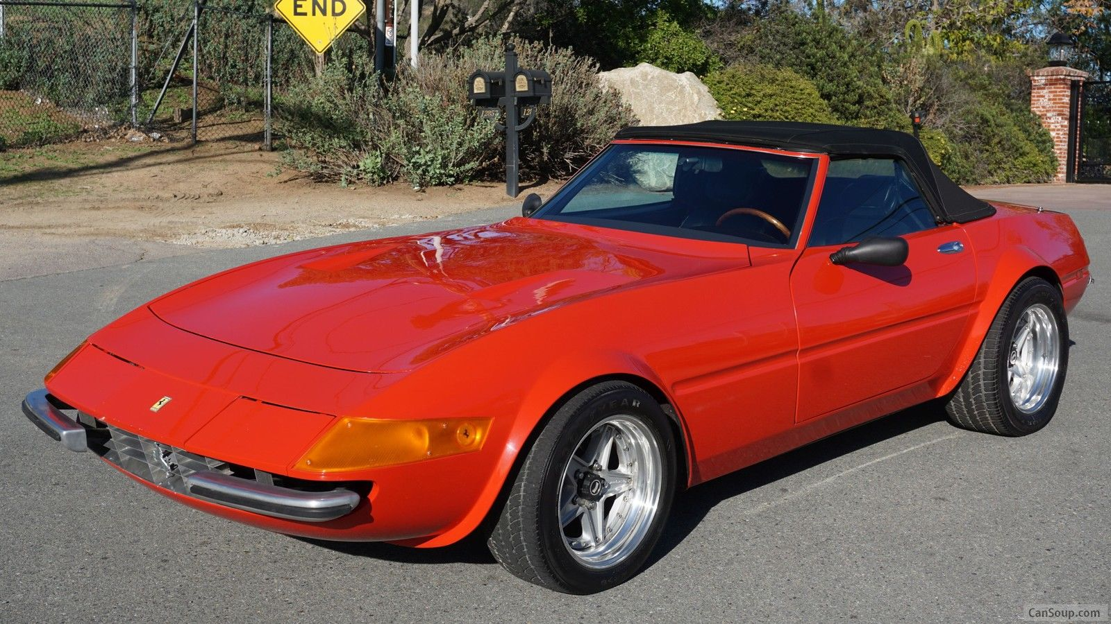 1979 California Daytona Spyder 365 4 Conv 6k Miles Factory Built Mcburnie 79 Of 79 For Sale