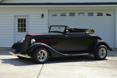 1934 Ford Convertible, Hot Rod Replica for sale