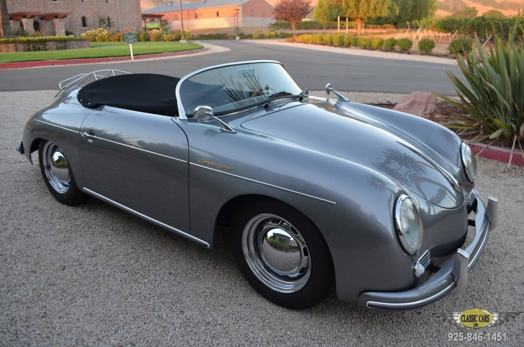 1957 Vintage Porsche Speedster Replica For Sale