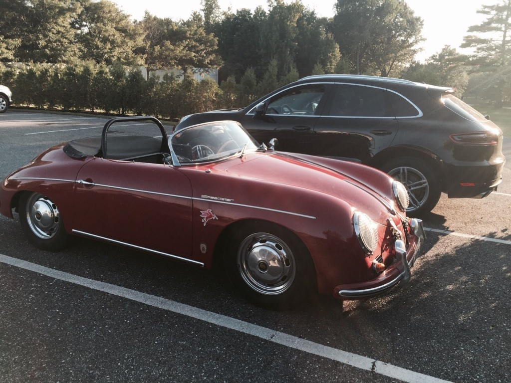 1958 Porsche 356 Speedster Red Factory Coach Built For Sale