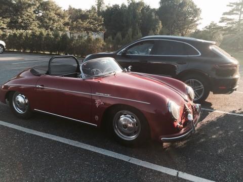 1958 Porsche 356 Speedster Red Factory Coach Built for sale