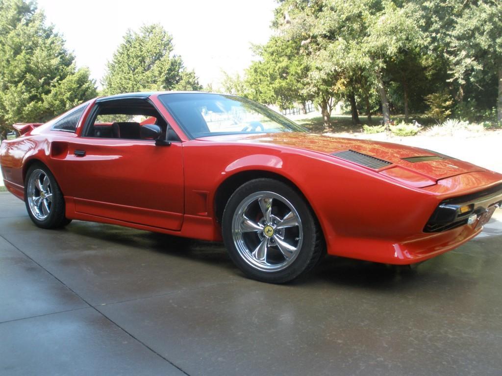Machiavelli Ferrari 308gtb Replica Built on 1986 Pontiac Trans AM