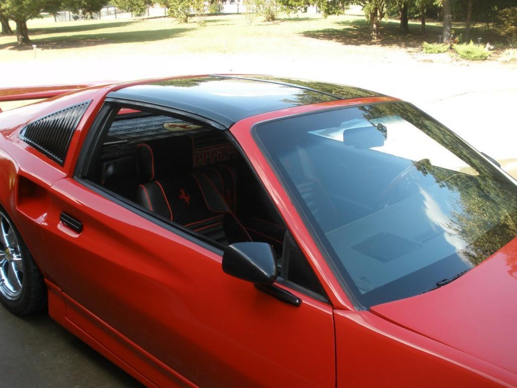 Machiavelli Ferrari 308gtb Replica Built On 1986 Pontiac