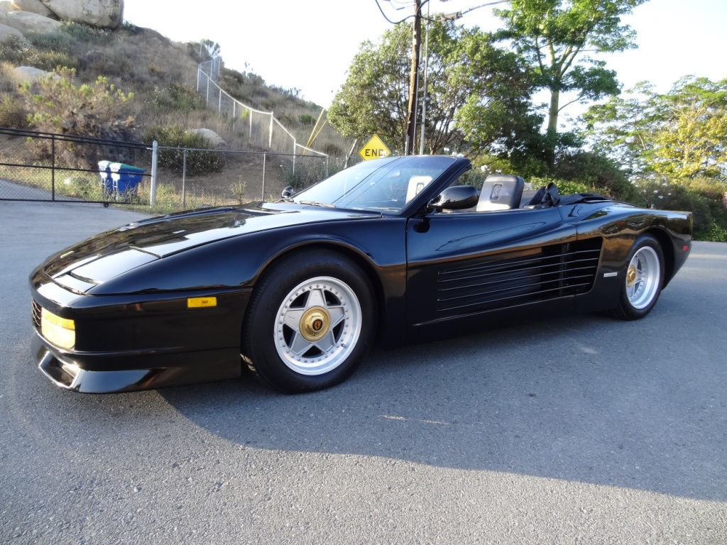 1987 ferrari testarossa kit car gt conversion lite project 1 owner 72k original miles for sale. Black Bedroom Furniture Sets. Home Design Ideas