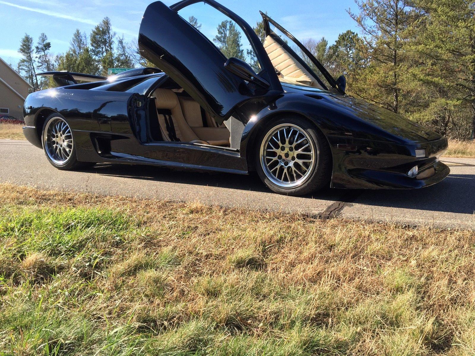 2015 Lamborghini Aventador Replica For Sale: 2000 Replica ASVE Lamborghini Diablo TT For Sale