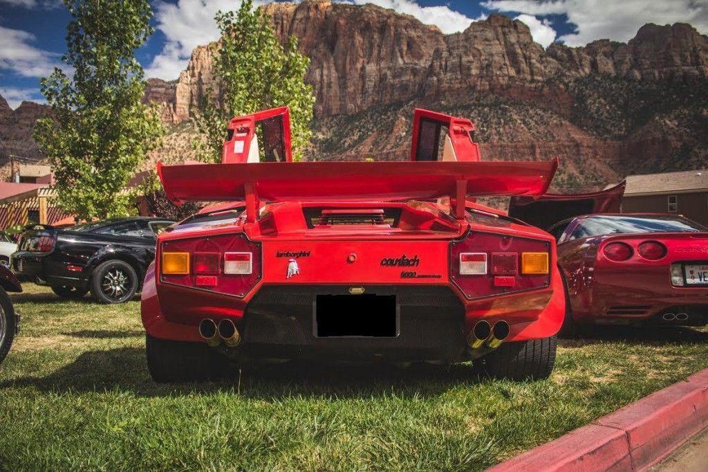 Lamborghini Countach Replica For Sale In California