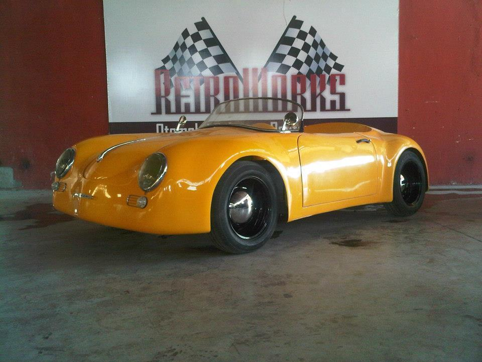 Porsche 356a 1959 Wide Body Replica Electric Engine For Sale