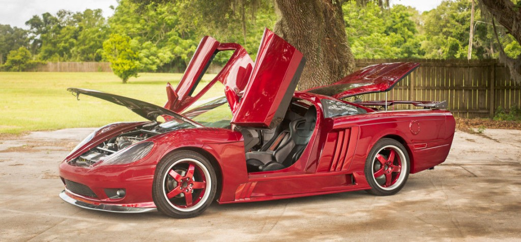 Saleen S7 Kit Car Replica Custom Exotic Super Car On A