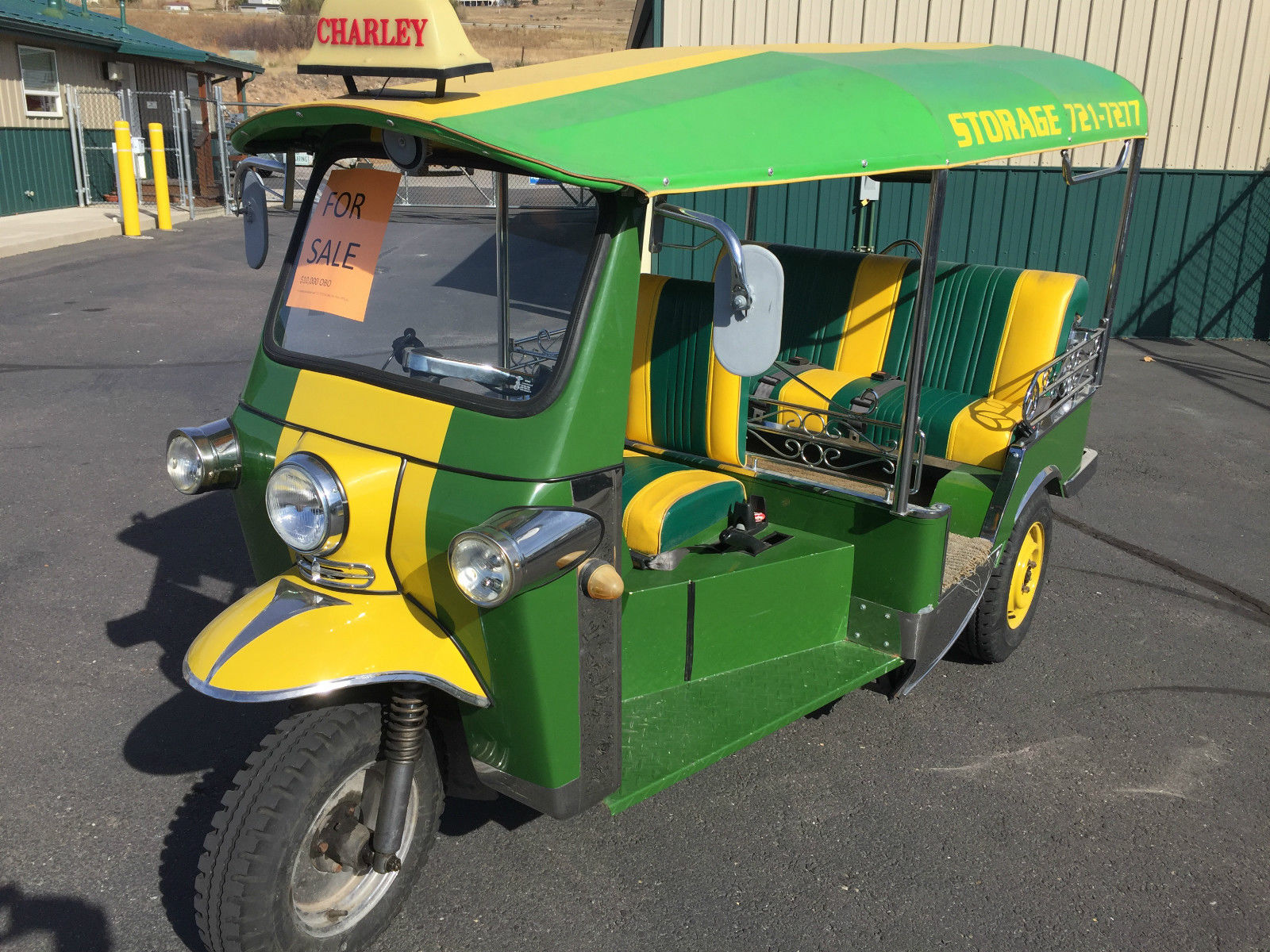 Tuk Tuk Imported From Thailand Street Legal 3 Wheel Bangkok Taxi For Sale