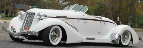 1936 Auburn Boattail Speedster Replica for sale