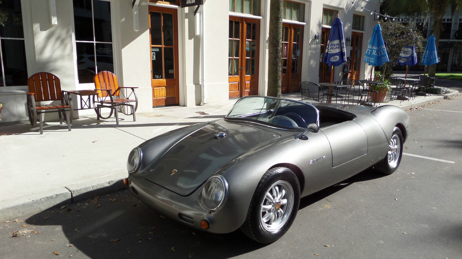 1955 Porsche 550 Spyder Convertible Replica For Sale