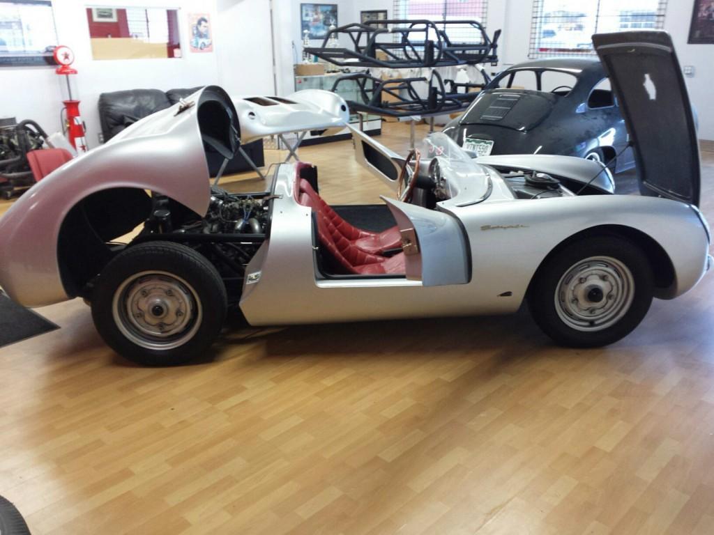 1955 Porsche Spyder >> 1955 Porsche 550 Spyder Replica for sale