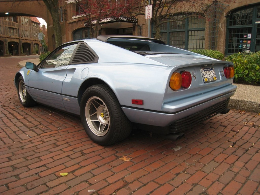 1987 Ferrari 328 Gtb Ferrari Azzurro Blue Paint On Pontiac