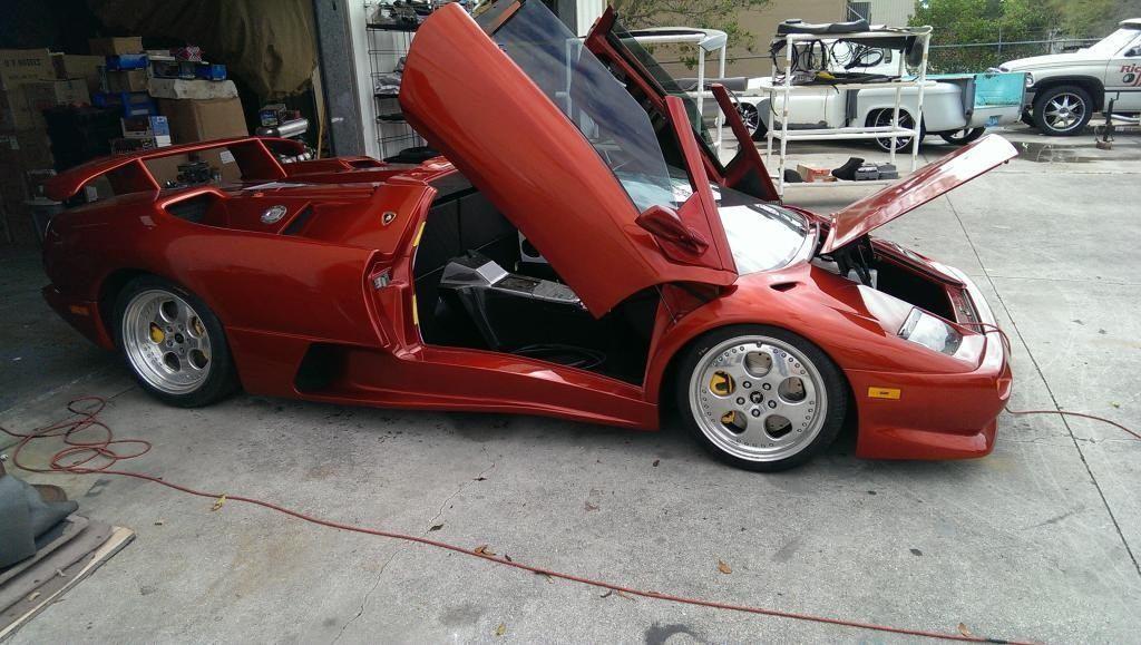 Lamborghini Diablo Vt Roadster Ls6 650hp Replica For Sale