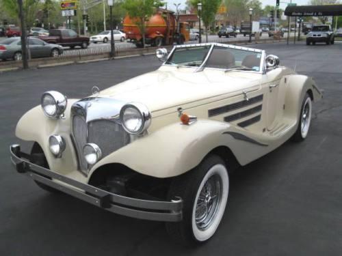 "1981 Pontiac ""Centaur Roadster"" / 1936 Mercedes 540K Roadster Replica"