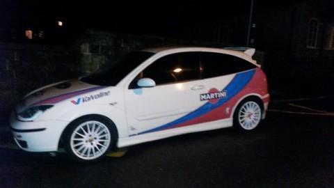 2000 Ford Focus Colin McRae Martini Replica Rally Car for sale
