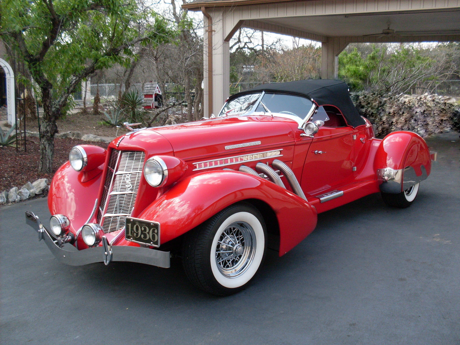 1936 2nd Generation Reproduction Auburn 852 Speedster For Sale