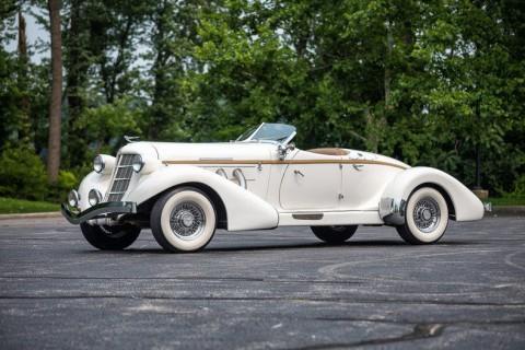 1936 Auburn Boattail Speedster Replica Ford Powered California Custom Coach for sale