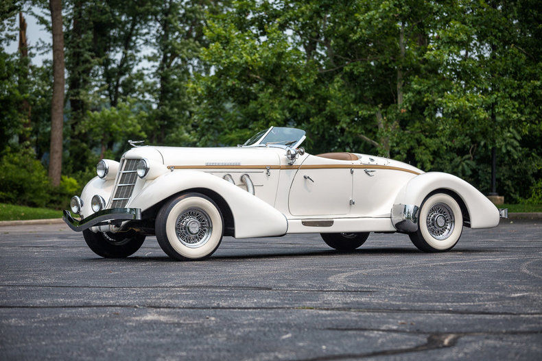 1936 Auburn Boattail Speedster Replica Ford Powered California Custom Coach For Sale