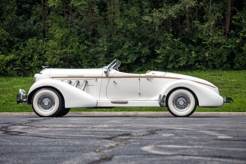 1936 Auburn Boattail Speedster Replica Ford Powered