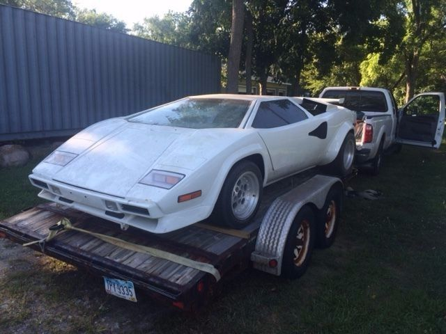 1978 lamborghini countach kit car for sale. Black Bedroom Furniture Sets. Home Design Ideas