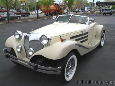 "1981 Pontiac ""Centaur Roadster"" – 1936 Mercedes 500K Roadster Replica for sale"