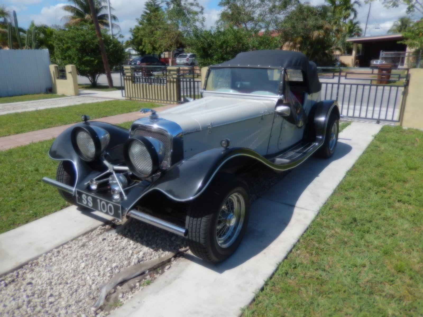 jaguar ss  roadster replica  sale