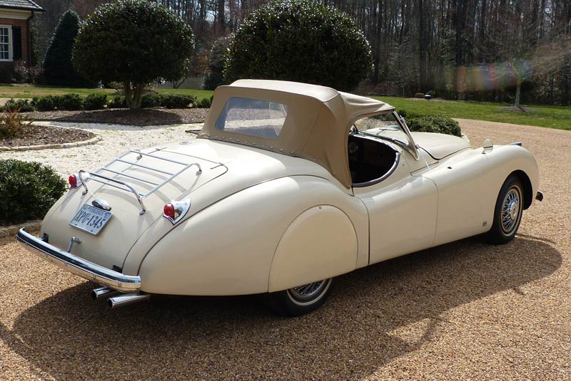 1954 Jaguar XK120G Roadster Replica