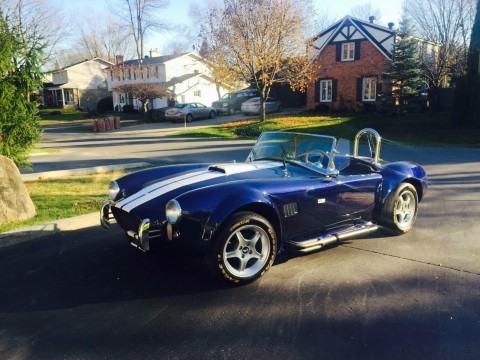 1965 Shelby Cobra, Beautiful Blue Roadster, Kit Car V8 for sale