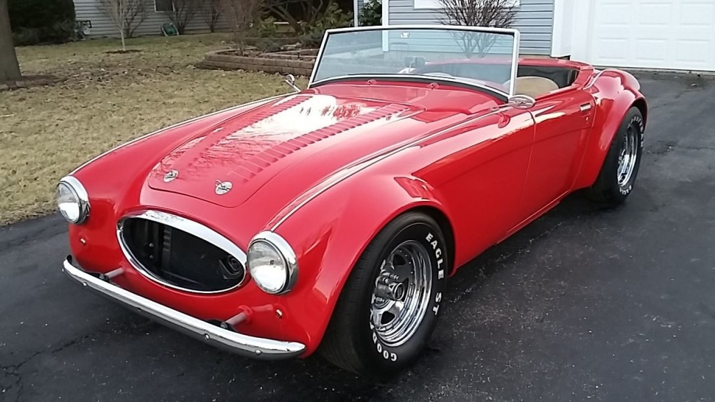 1966 replica austin healey 3000 sebring for sale. Black Bedroom Furniture Sets. Home Design Ideas