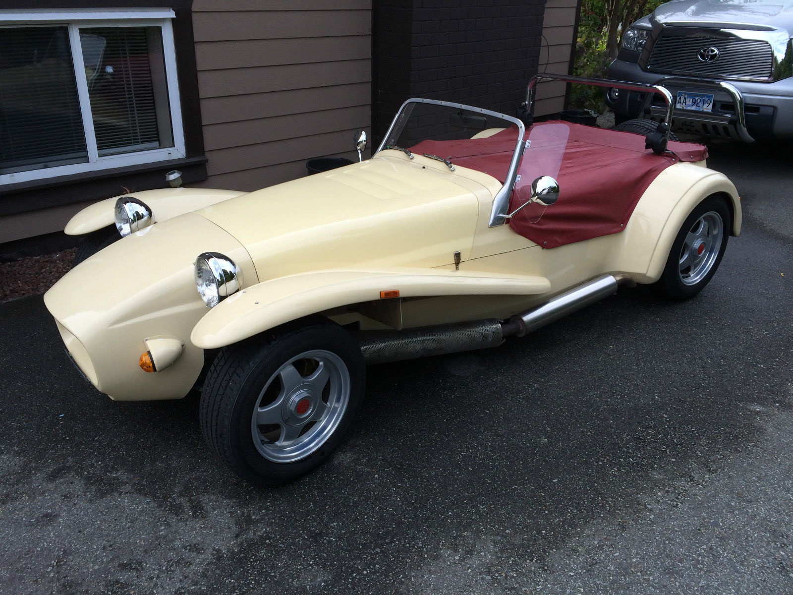 1990 Westfield Se Super Seven Factory Built Roadster For Sale