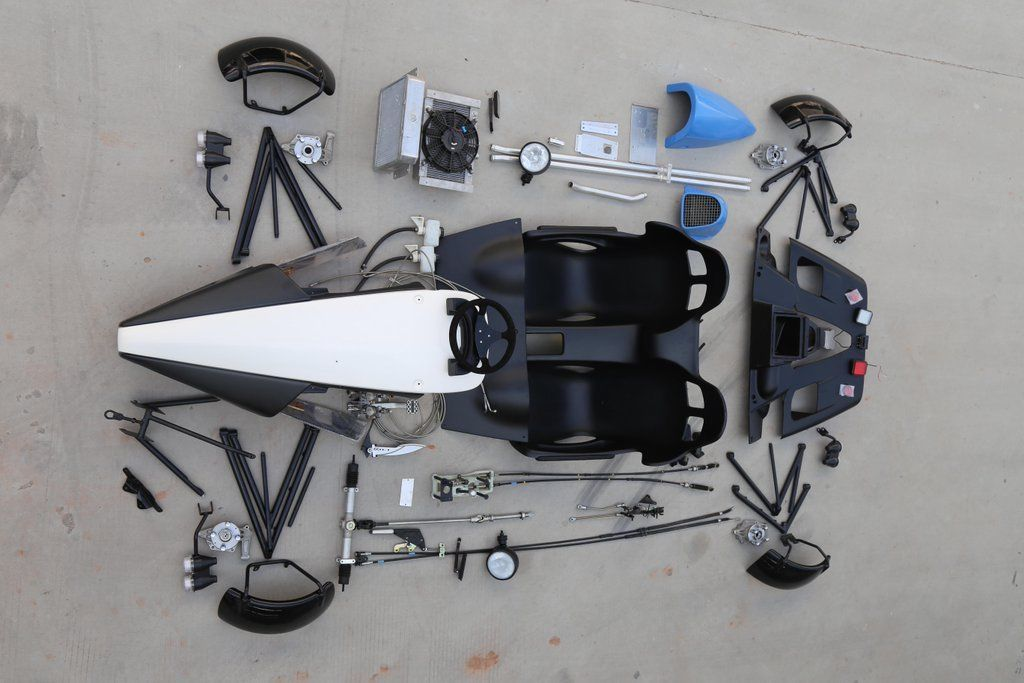 1980 Altra Exoskeletal Sports Car Replica Kit For Sale
