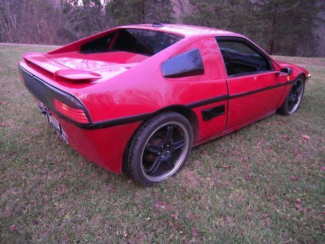 1986 Custom Kit Car Pontiac Fiero Gt Rebody Ferrari Look