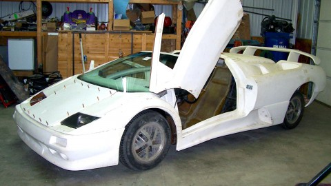 1987 Lamborghini Diablo Roadster Replica Kit Car for sale