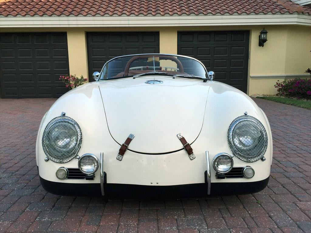 1988 Cmc 1957 Porsche 356 Speedster C Widebody Convertible