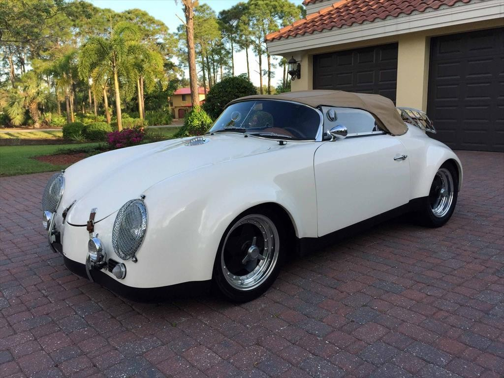 1988 Cmc 1957 Porsche 356 Speedster C Widebody Convertible Replica For Sale
