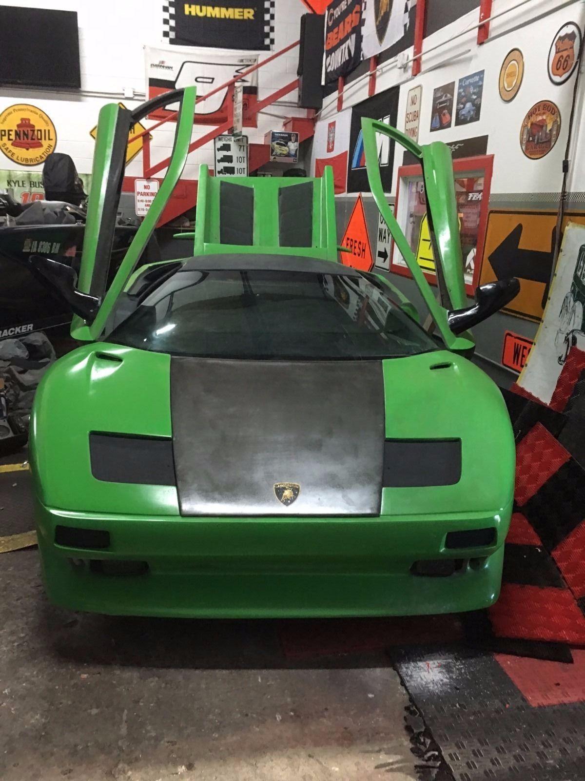 Lamborghini Reventon Engine 1997 Lamborghini Diabl...