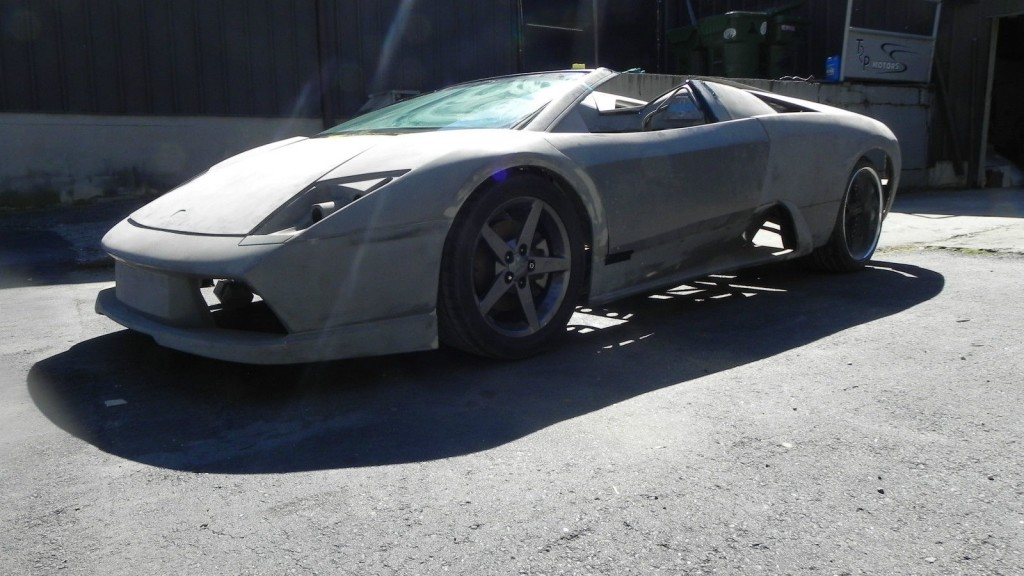 2005 Lamborghini Murcielago Roadster Kit Car Tube Frame