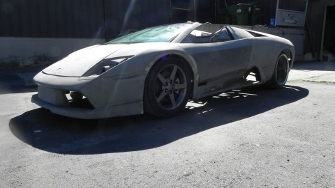 2005 Lamborghini Murcielago Roadster Kit Car Tube Frame BMW V12 Engine for sale