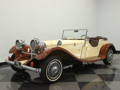 1937 Jaguar SS100 replica for sale