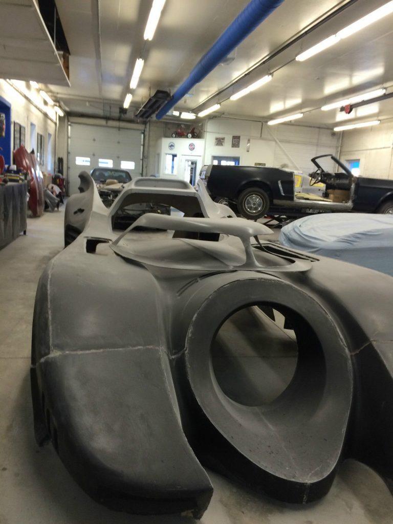 Project Car Batmobile Tribute Kit CarReplica On Corvette