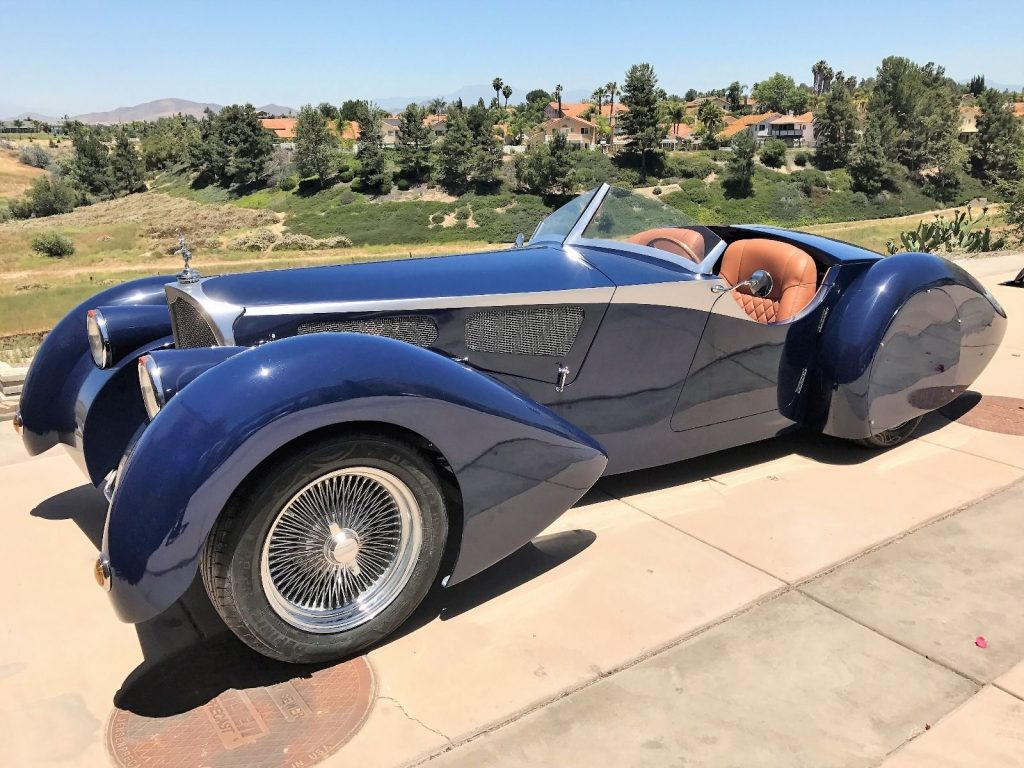 1937 Replica Kit Siero Speedster Bugatti Corsica For Sale