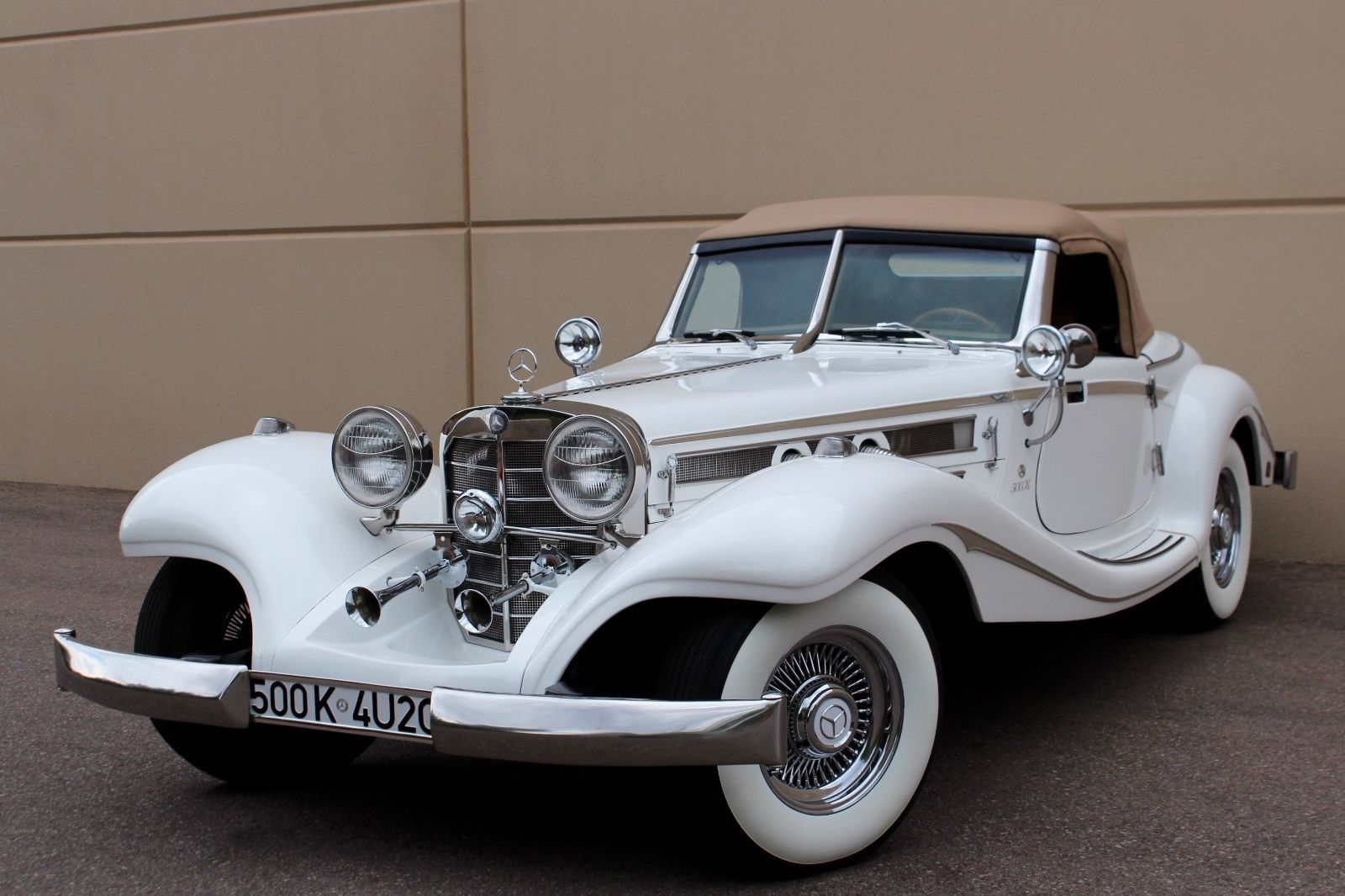 Chevy Engine 1934 Replica Kit Mercedes Benz 540k S For Sale